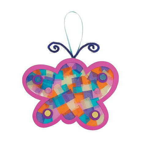 paper butterflies craft tissue paper butterfly craft kit trading