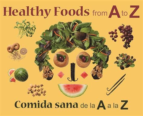 healthy picture books book review healthy foods from a to z growing up bilingual