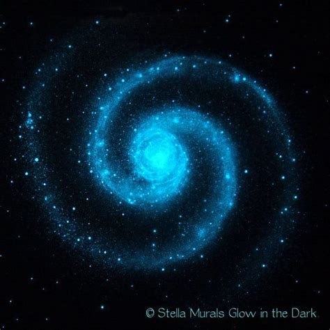 glow in the paint on ceiling glow in the ceiling poster large spiral galaxy