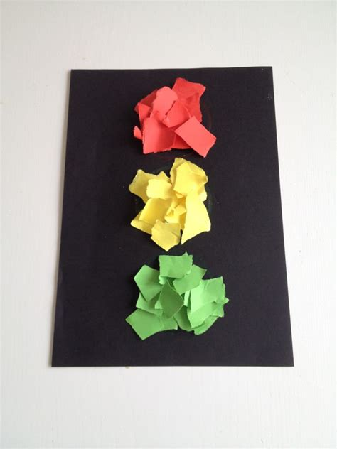 light crafts for traffic light colour matching craft the spirited puddle