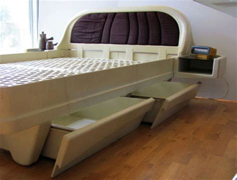 plastic bed ebay seccombe designed 1970s space age