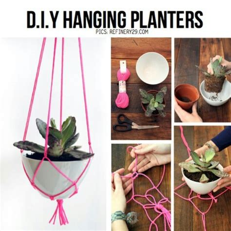 diy hanging planters for when i m crafty
