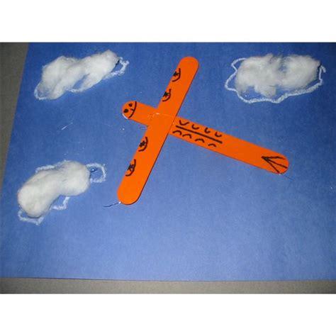aeroplane craft for air transportation activities preschool www