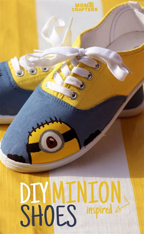 shoebox crafts for diy minion shoes and crafters