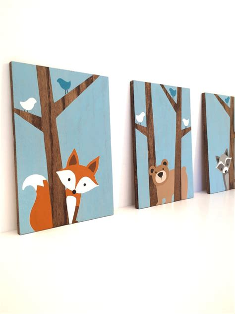 fox nursery decor fox nursery decor fox nursery fox decor fox fox painting