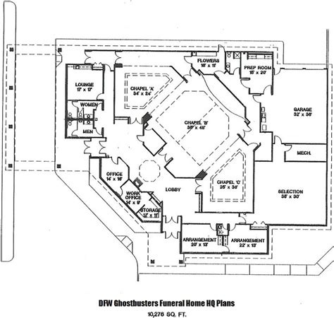 funeral home floor plan layout funeral home blueprints search engine at search