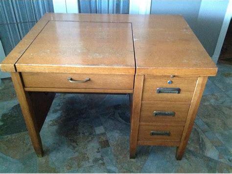 antique typewriter desk antique solid oak typewriter desk nanaimo nanaimo