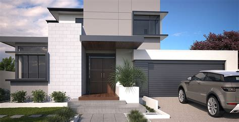 Split Bedroom Floor Plans the new style of luxury double storey homes