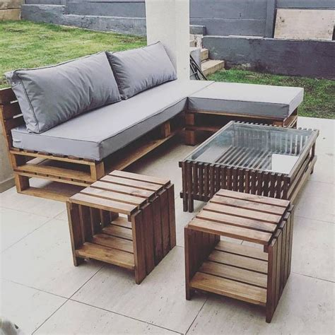wooden pallet patio furniture 25 best ideas about pallet outdoor furniture on