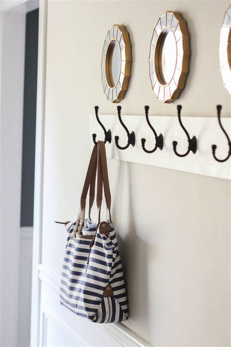wall mounted coat rack how to build a wall mounted coat rack erin spain