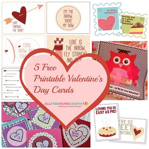 valentines day cards to make and print 5 free printable s day cards