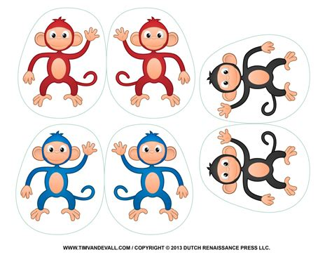 monkey crafts for printable monkey clipart coloring pages crafts