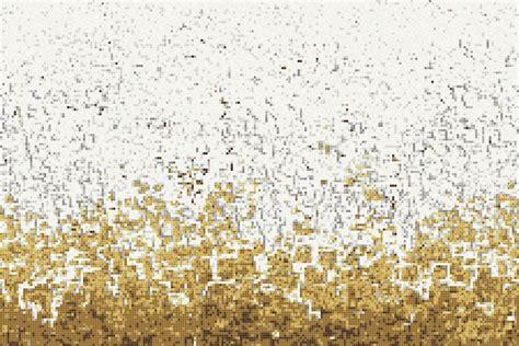 Kitchen With Stone Backsplash yellow waves tile pattern rising tide gold by artaic
