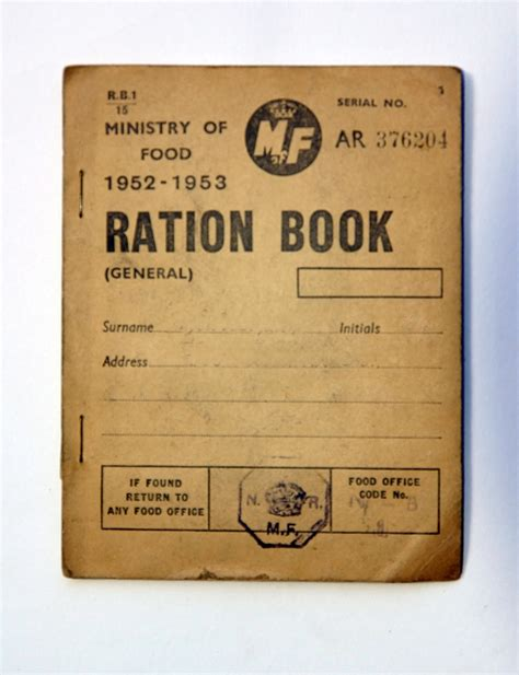 pictures of ration books rationing living in harmony with earth s limits