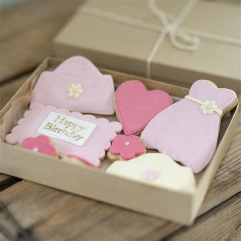 gift boxes for cookies birthday cookie gift box by nila holden cookies biscuits