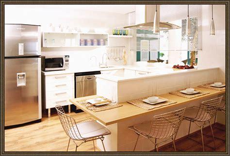 decoracion de cocinas peque as y sencillas disenos de cocinas pequenas y sencillas con desayunador