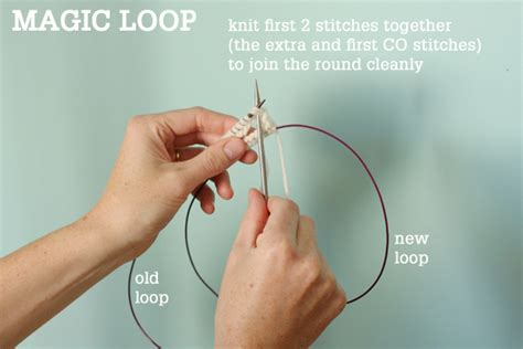 magic loop method of knitting magic loop technique how to knit in the using a
