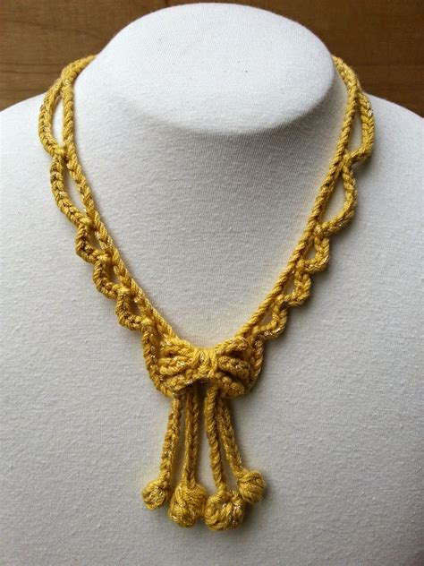 crochet jewelry stitch story new free crochet jewelry patterns for kreinik