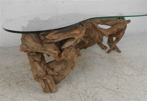 driftwood coffee tables driftwood coffee table at 1stdibs