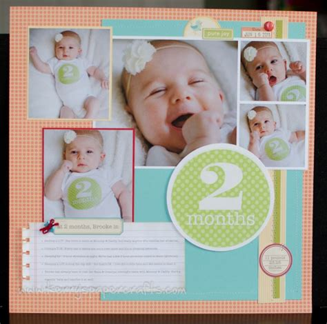 baby picture book ideas 17 best images about scrapbooking page exles on