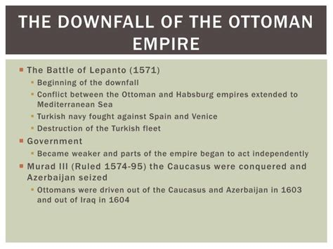 downfall of the ottoman empire ppt ottoman empire powerpoint presentation id 1973206