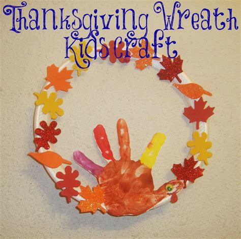 thanksgiving arts and crafts for thanksgiving wreath craft