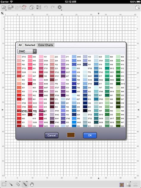 perler bead color palette kg chart stitchsketch stitchsketch here comes