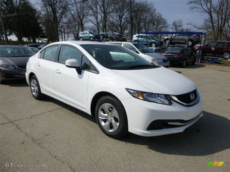 Honda Civic Lx 2013 by 2013 Taffeta White Honda Civic Lx Sedan 79513559