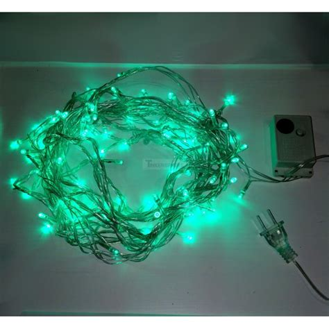 green led string lights 7 99 green 10m 8 mode led string lights lights
