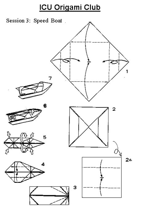 origami boat printable free coloring pages of origami boat