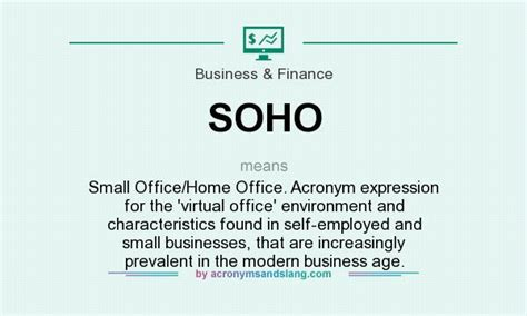 home office meaning soho small office home office acronym expression for