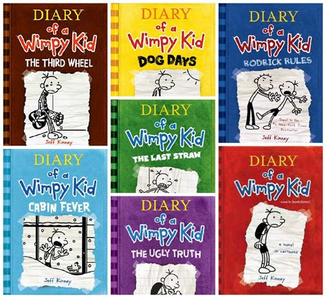 the diary of a series 1 diary of a wimpy kid book series hilarious book series