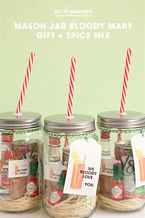 gift recipe ideas make your own jar bloody gift spice mix