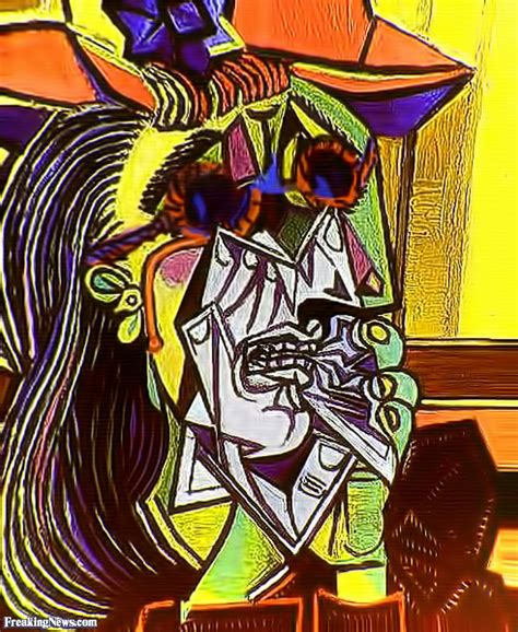 picasso paintings the weeping pablo picasso weeping wearing sunglasses pictures