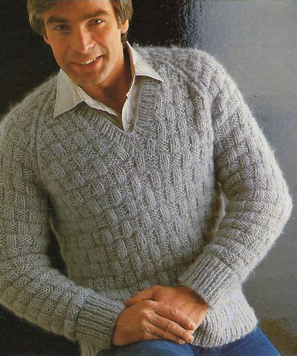 mens knitting patterns knitting pattern sweater cardigan with buttons