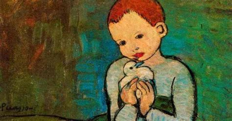 picasso paintings when he was a child vicsmuse picasso paintings and photos with children
