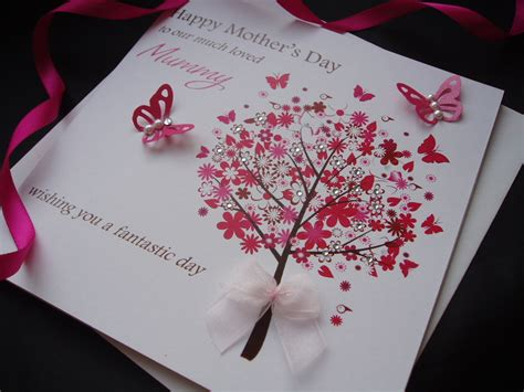 how to make handmade mothers day cards mothers day cards personalised handmade mothers day