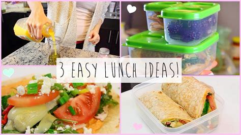 ideas for work 3 healthy easy lunch ideas for work school