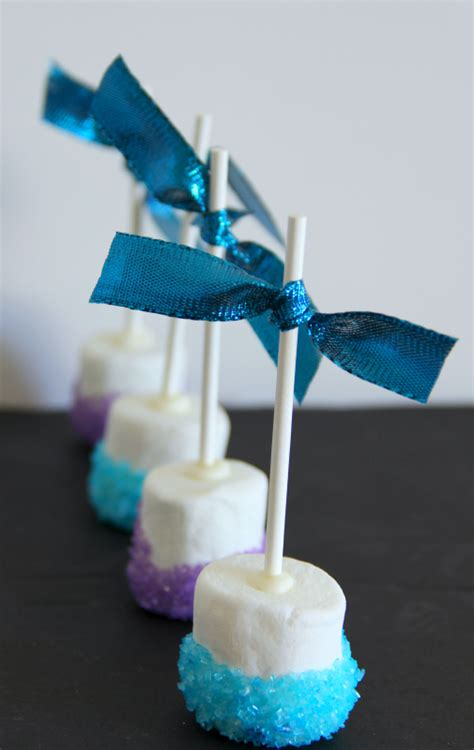 marshmallow crafts for food for a frozen inspired
