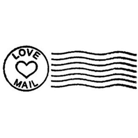Mail Postal Cancellation Marks Valentines Day Rubber