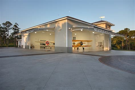 Houzz Home Design Kitchen residential airplane hanger florida vernacular style