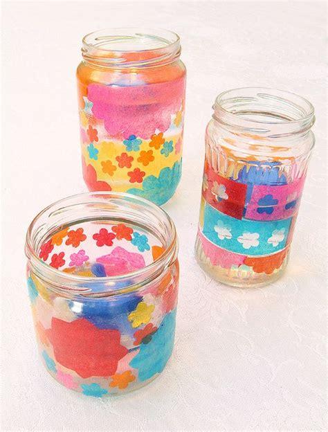 decoupage candle jars 25 unique tissue paper lanterns ideas on