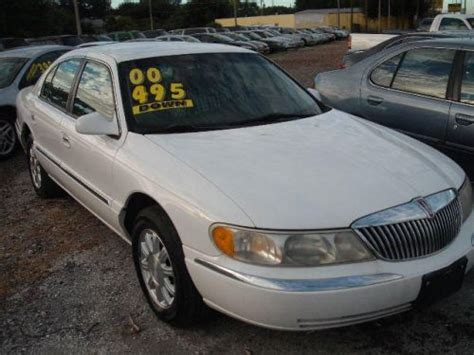 how to sell used cars 2000 lincoln continental head up display sell new 2000 lincoln continental in 4600 66th st n kenneth city florida united states for