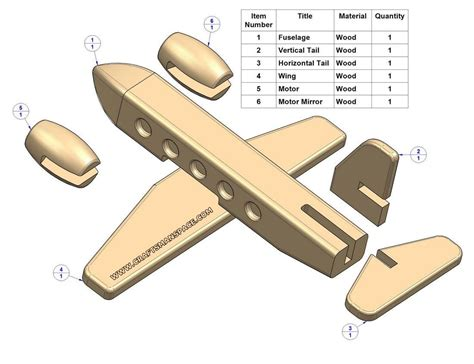 woodworking plane parts easy wood patterns passenger plane plan