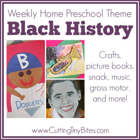 history crafts for black history weekly home preschool what can we do with