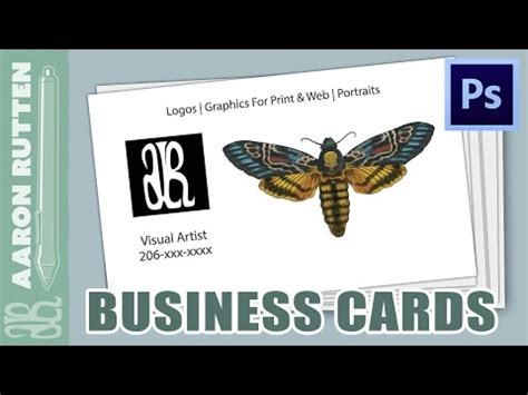 how to make a business card in photoshop cs6 how to make a business card in photoshop cc
