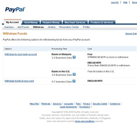 can you make withdrawals with a credit card paypal mrcuz