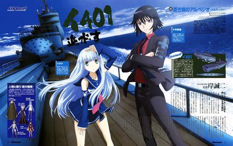 Anime Review Aoki Hagane No Arpeggio Arpeggio Of Blue