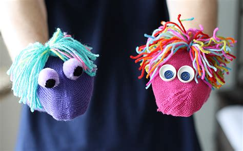 puppet crafts for mismatched mitten diy puppets 183 kix cereal