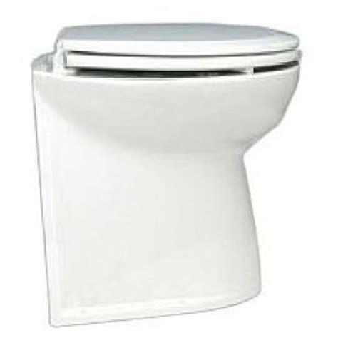 Jabsco Deluxe Toilet by Jabsco Deluxe Silent Flush Electric Toilet 12v Compact